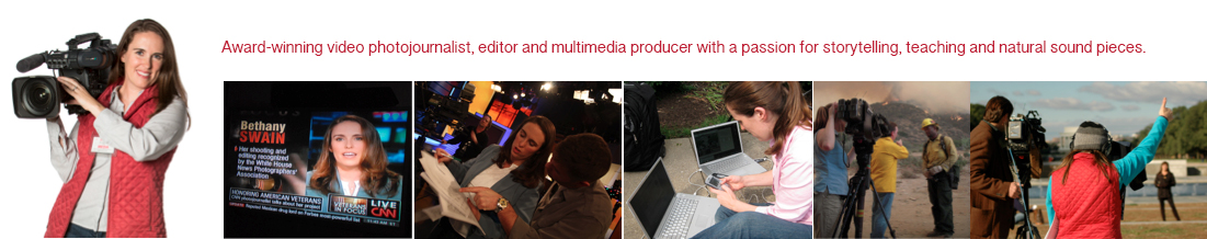 Bethany Swain – Multimedia Producer