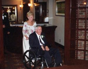 Ed Carol Swain wedding
